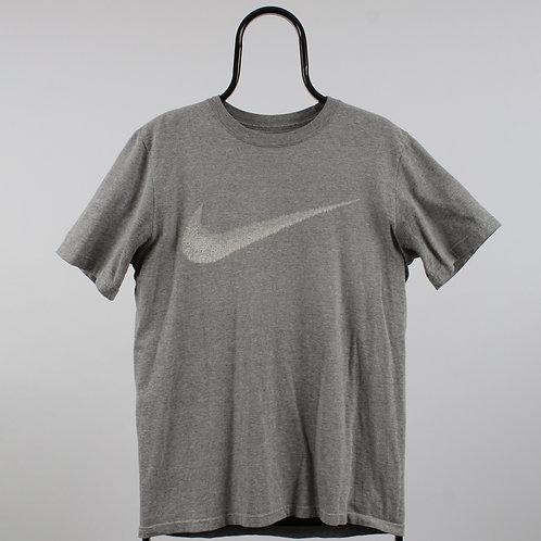 Nike Vintage Grey Graphic Logo TShirt
