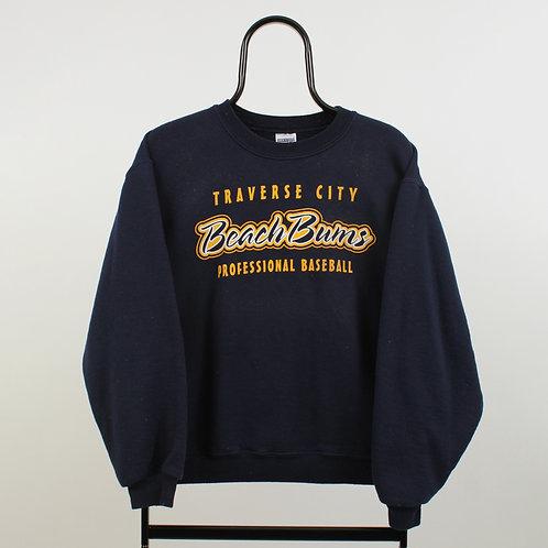 Vintage Navy Beach Bums Sweatshirt