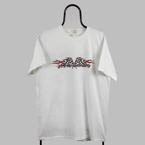 Vintage White D&K Motorsports TShirt