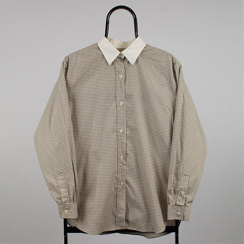 Burberry Vintage Beige Checked Shirt