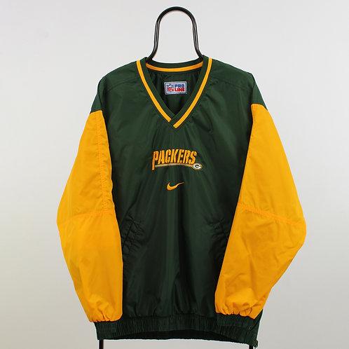 Nike Vintage Reversible Green Bay Packers Tracksuit Top