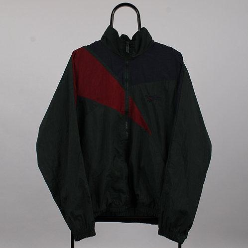 Reebok 90s Vintage Green Windbreaker Jacket