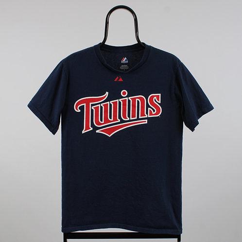 Majestic MLB Minnesota Twins Navy TShirt