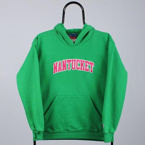 Champion Vintage Green Nantucket Hoodie