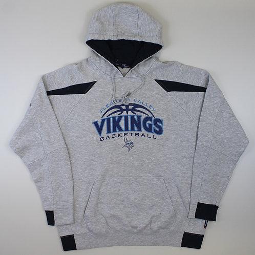 Vintage Vikings Basketball Hoodie
