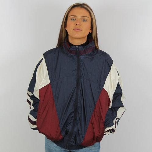Wilson Vintage Navy Windbreaker Jacket