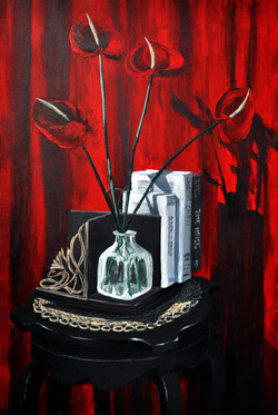 Still Life with Anthurium