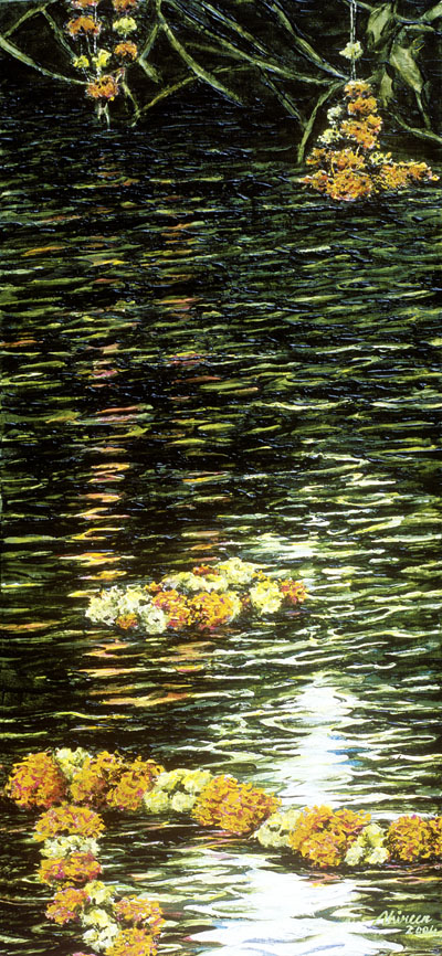 Garlands in the River