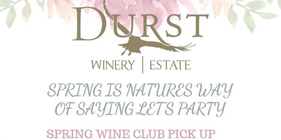 5/14 Spring Wine Club Pick Up