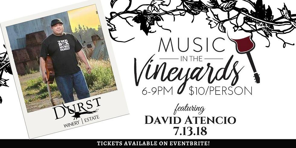 Music in the Vineyard featuring David Atencio