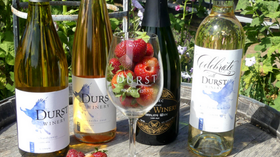 Durst Winery – Lodi's Newest Tasting Room Bottles of Ancient Vine Zinfandel Wine From Lodi's Durst W