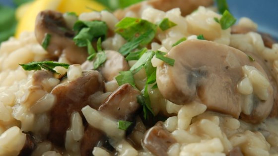 Wine Pairing #1 - Barbera and Mushroom Risotto