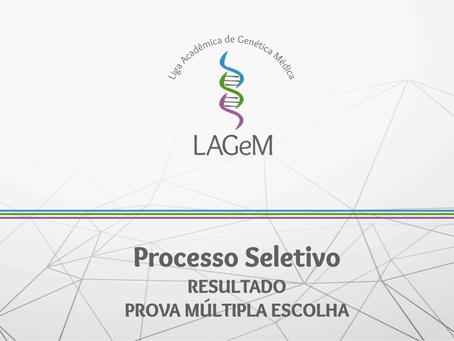 RESULTADO DA 1ª ETAPA DO PROCESSO SELETIVO 001.2018