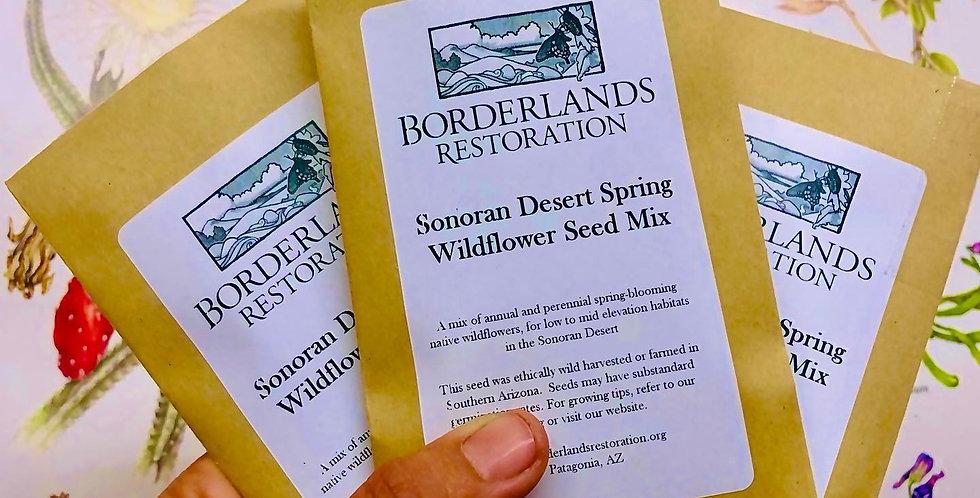 Sonoran Desert Spring Seed Mix