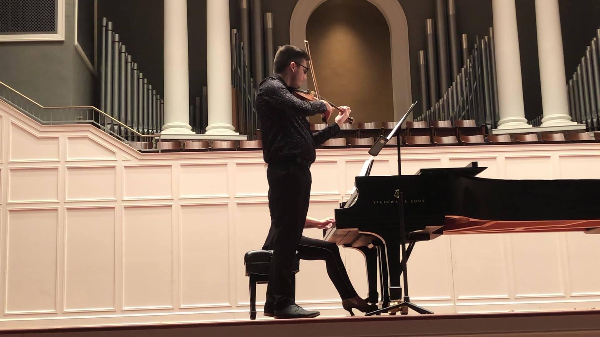 Sonata for Violin and Piano, II. - Philip Glass