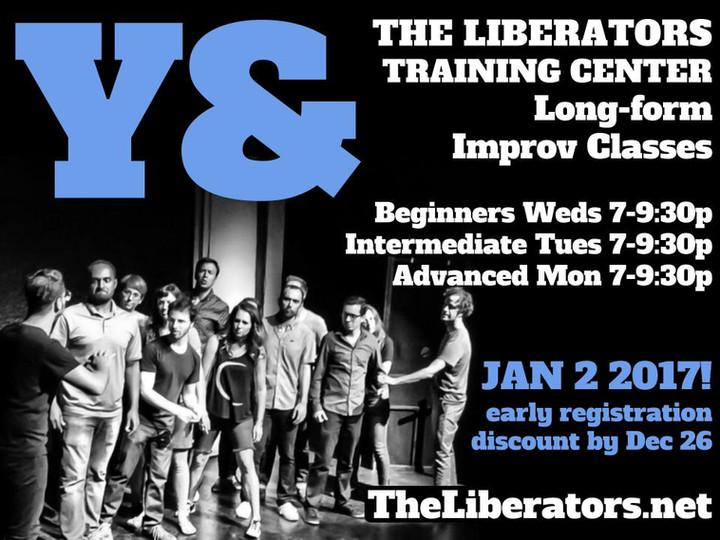 JAN 2 - NEW CLASSES - Liberators Studio