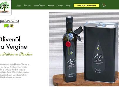 gusto-sicilia - neue Internetseite und spektakuläres Eröffnungsangebot