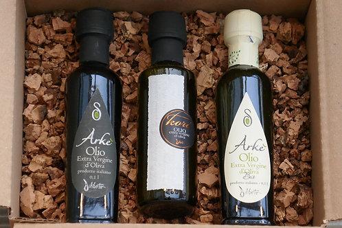 Olivenöl-Variation 3 Flaschen