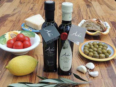Olivenöl extra vergine Arkè und Bio