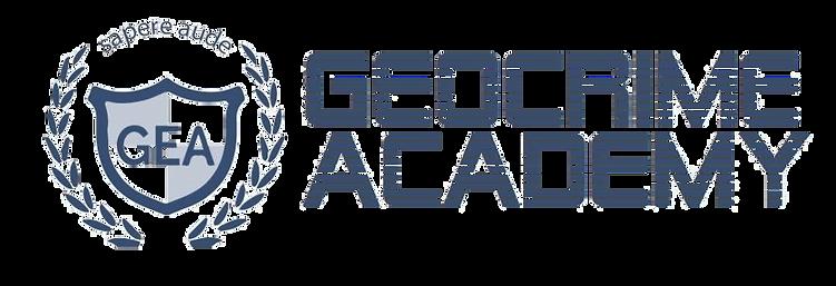 Logo Geocrime Academy - Antonio De Bonis