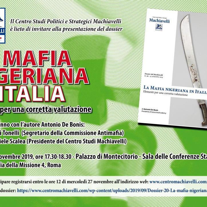 La Mafia nigeriana in Italia.