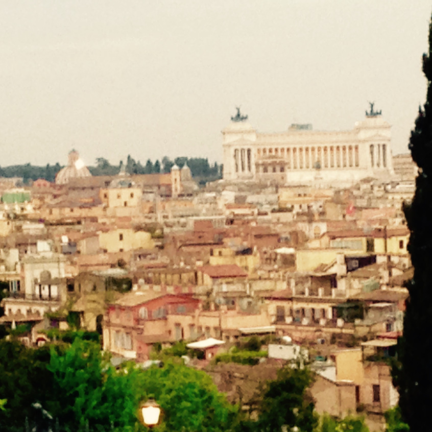 View of Florence rooftops
