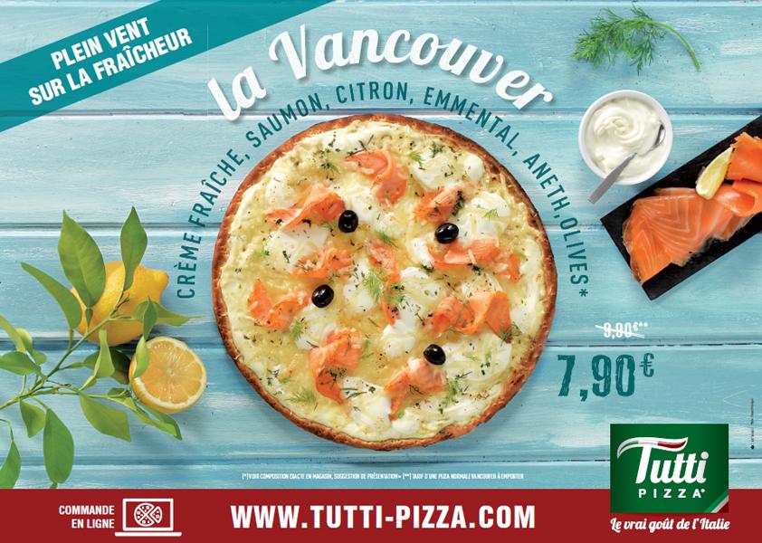 Affichage TUTTI PIZZA