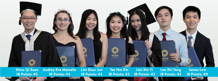 Nexus Malaysia IB Diploma Top Scorers 2019