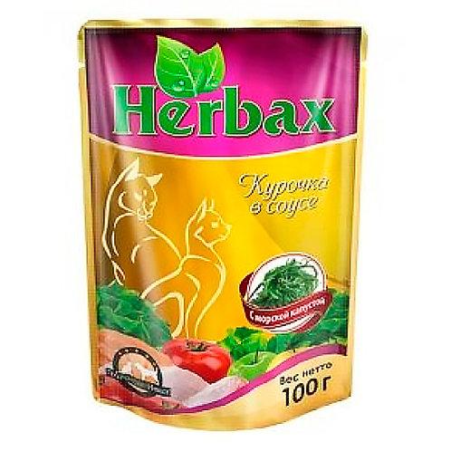 Herbax влажник в соусе (12 штук по 100 гр.)
