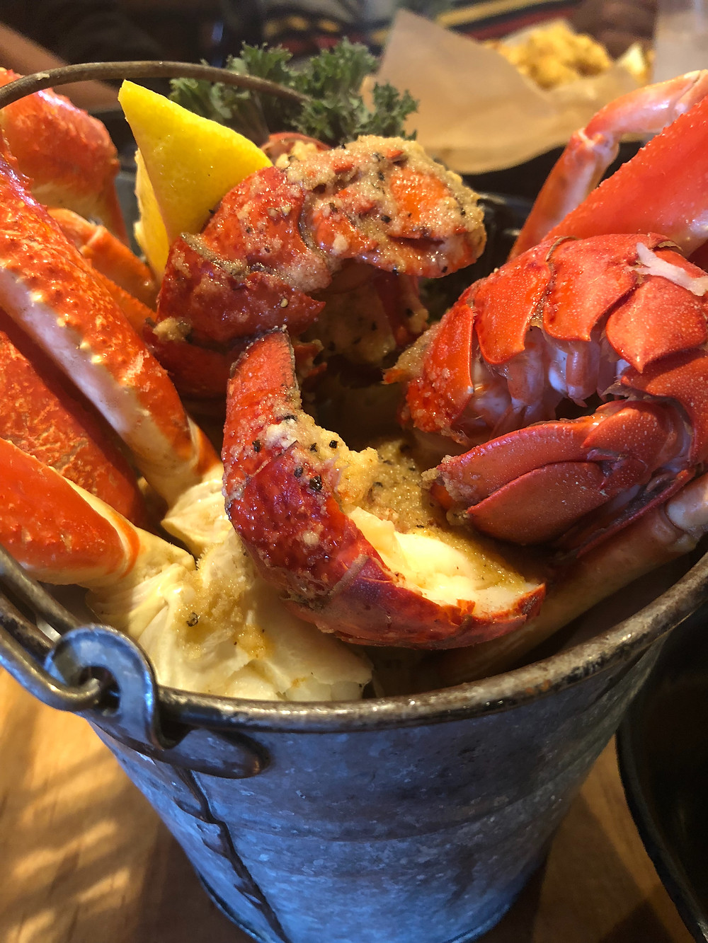Lobster and Crab Bucket
