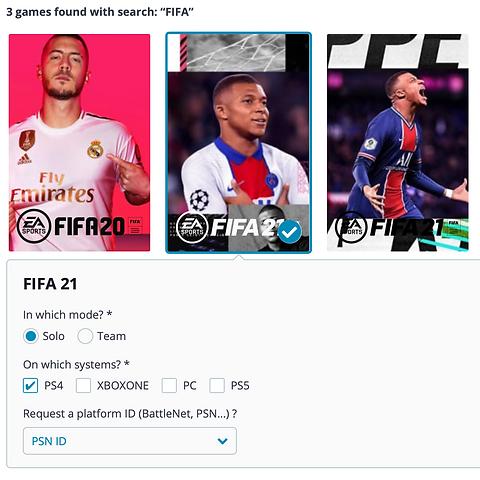 games esport fifa league of legends fortnite smash overwatch