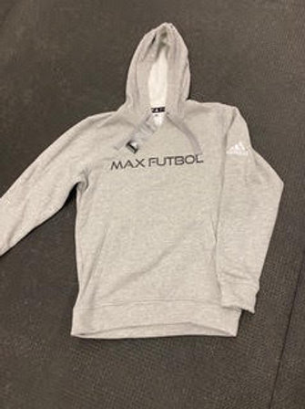 Adidas Gray Hooded Sweatshirt
