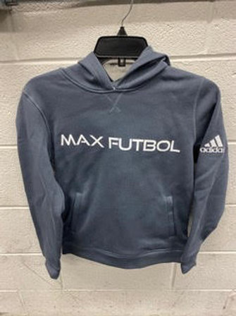 Adidas Charcoal Grey Hoodie with Pockets