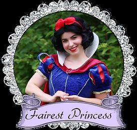 banner snow white Once upon a princess toronto.png