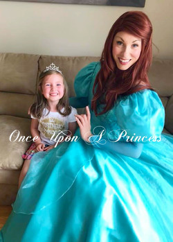 little mermaid party once upon a princess toronto