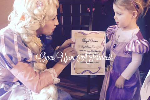 rapunzel princess party kingston