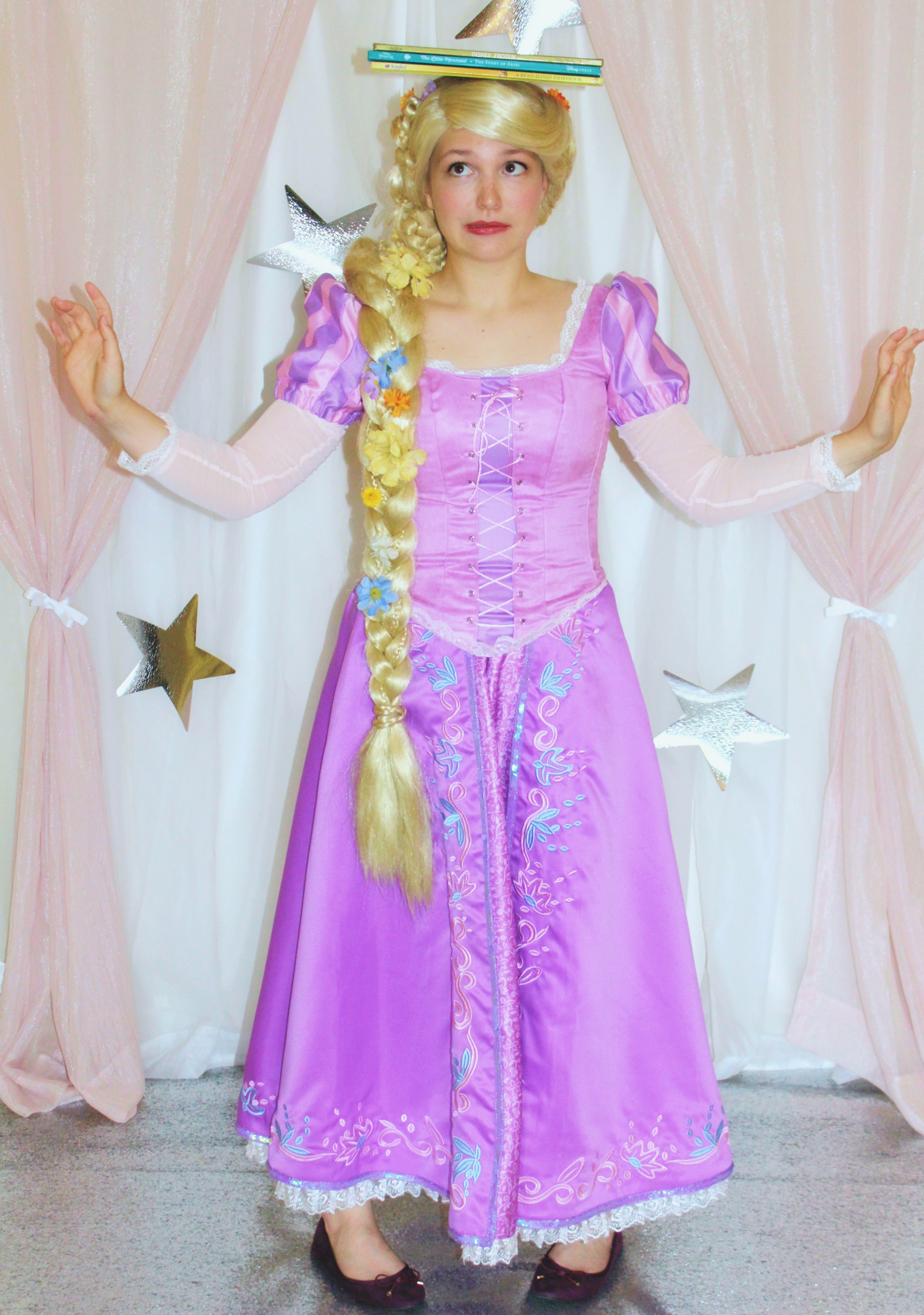 backdrop rapunzel