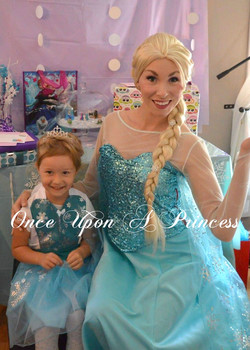elsa party once upon a princess party kingston