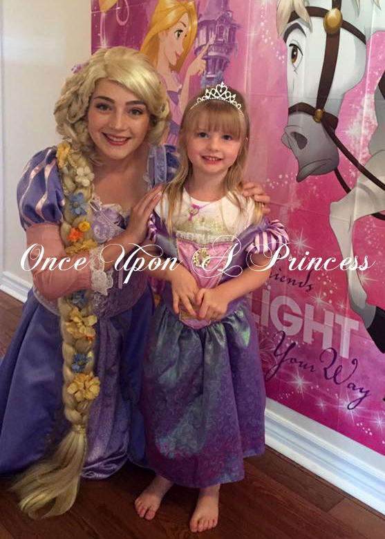 rapunzel party once upon a princess kingston