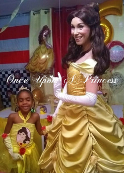 Belle party photo Once upon a princess p