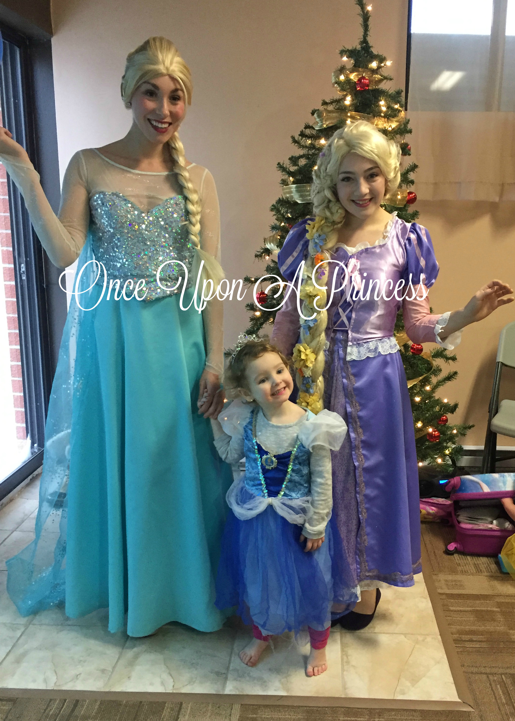 elsa and rapunzel once upon a princess party kingston