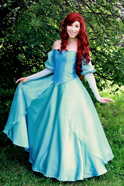 little mermaid teal once upon a princess