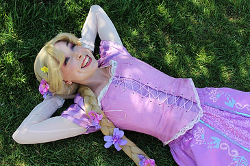 Rapunzel K Once Upon A Princess Party To