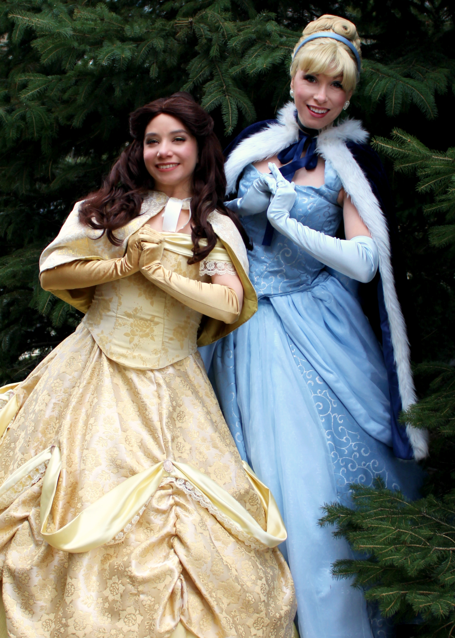 cinderella and Belle 2 Once Upon A Princ