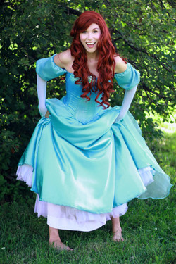 little mermaid teal 7 once upon a prince