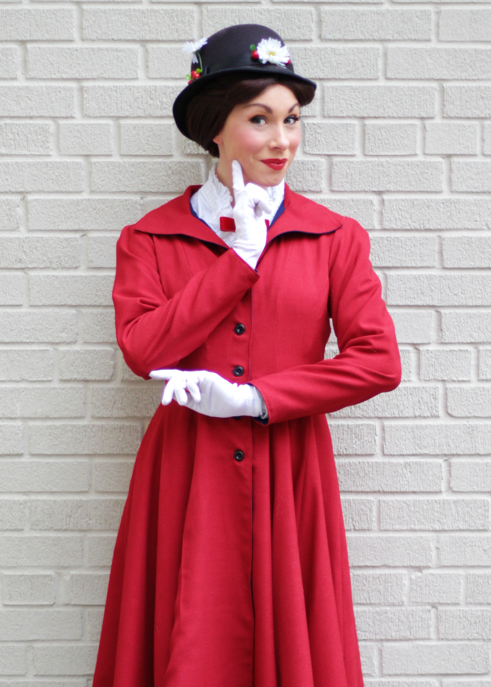 Mary Poppins red once upon a princess pa