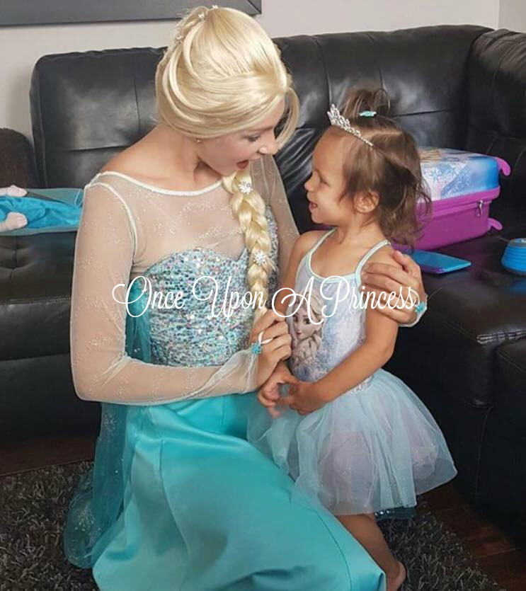 Elsa Once Upon A Princess Party Kingston