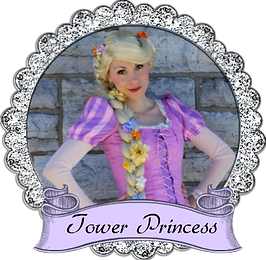 Banner Tower Princess Once Upon A prince