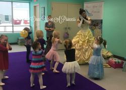 belle danceforce 3 once upon a princess party