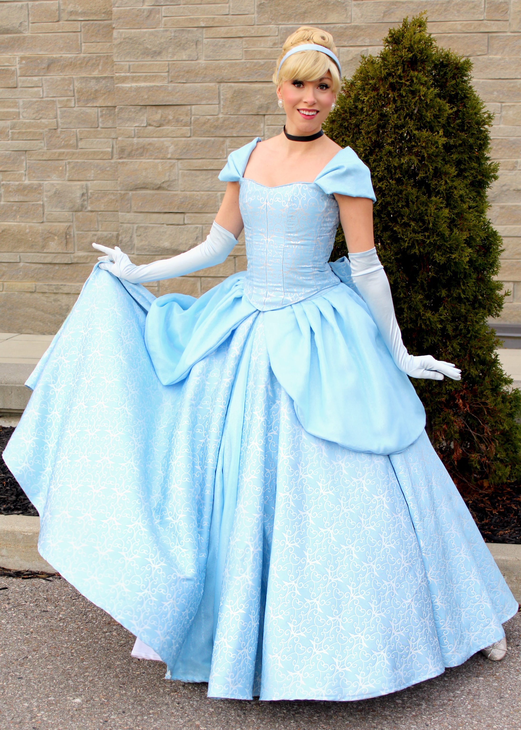 Cinderella parks Once Upon a Princess to